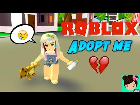 Soy Bebe y Mi Papa me Abandona en ROBLOX Adopt me 🎀 Titi Juegos Roleplay