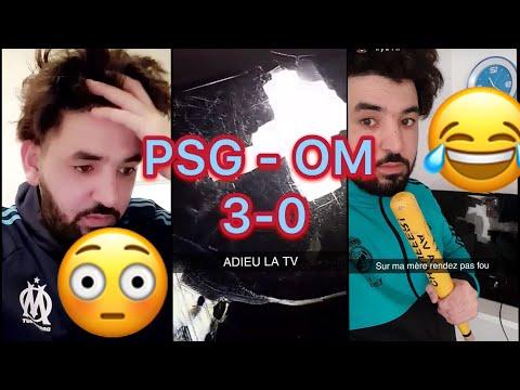 Mohamed HENNI VENERE 😂😳 après le Classico PSG-OM (3-0) casse sa télé