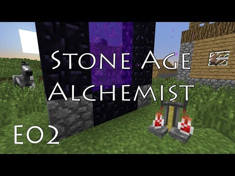 E02 - Flint AND Steel - Stone Age Alchemist - Nov 2013 MHC with BasketMC