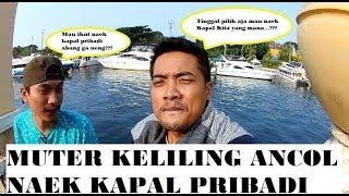 Orang Kaya Bebas !!! Jalan-Jalan Ke Ancol Bawa Kapal Pribadi Sendiri... #PART 1
