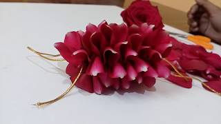 How to string Round Venis | Bridal Jada | Pelli pola Jadai | Garland