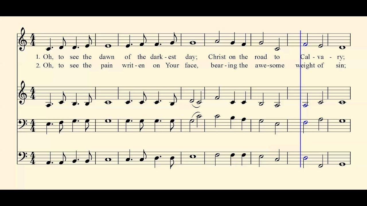 The Power Of The Cross Gospel Hymn
