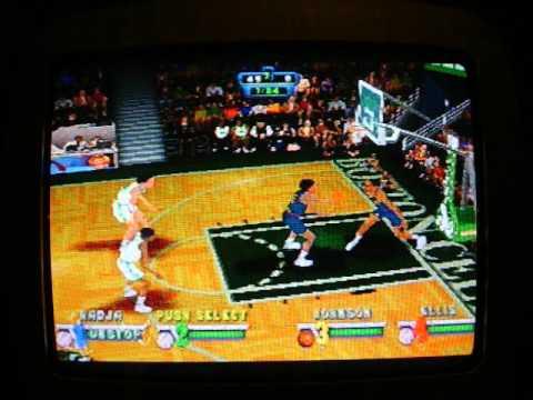 NBA JAM EXTREME. Dino Radja unstop!!!!!!