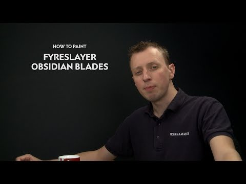WHTVTip of the Day  Fyreslayer Obsidian Blades.