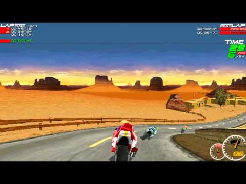 Moto Racer (Old PC Game / Championship Mode)