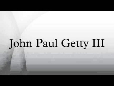 John Paul Getty III