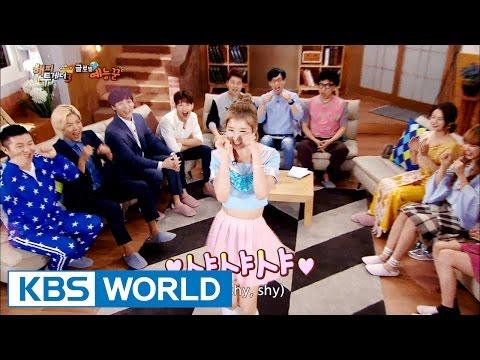 Sana's 'shy shy shy' that took over Korea [Happy Together/2016.07.21]