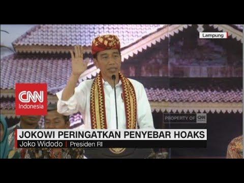 Dituduh PKI, Jokowi: Mau Saya Tabok Orangnya