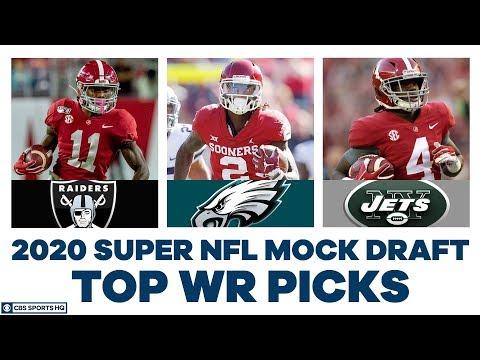 How High Will Henry Ruggs, CeeDee Lamb, & Jerry Jeudy Go? | 2020 Super NFL Mock | CBS Sports HQ