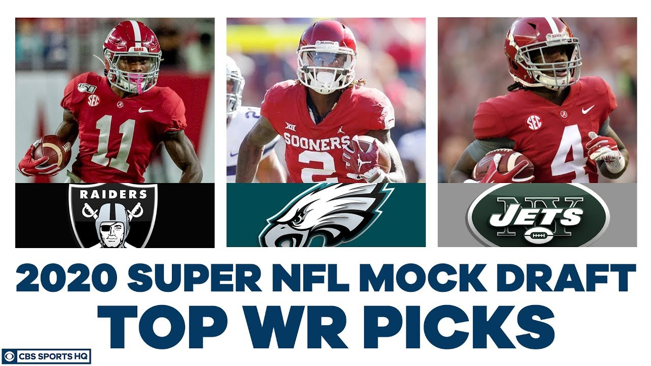 How high will Henry Ruggs, CeeDee Lamb, & Jerry Jeudy go? | 2020 Super NFL Mock | CBS Sports HQ