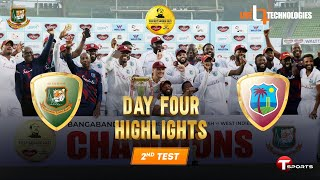 Full Highlights | Bangladesh vs West Indies | 2nd Test Day 04 | West Indies tour of Bangladesh, 2021