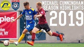 Michael Cunningham | Dribbles, Skills, Goals, Passes | 2019 Season Highlights