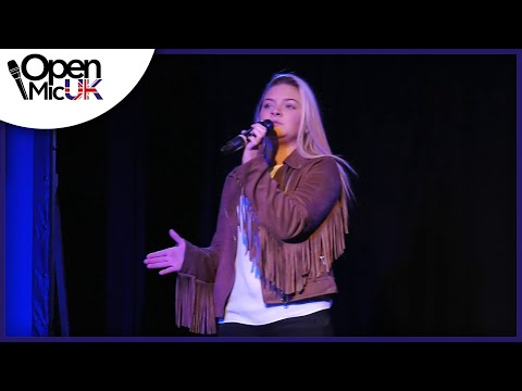 SHOW ME HEAVEN – MARIA MCKEE performed by LAUREN at the Camden Regional Final of Open Mic UK