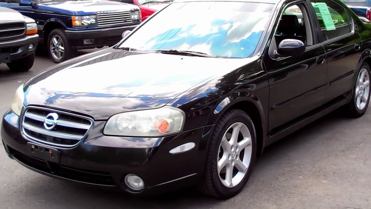 2003 nissan maxima se 35l v6 black on black leather youtube 2003 nissan maxima se 35l v6 black on black leather vanachro Image collections