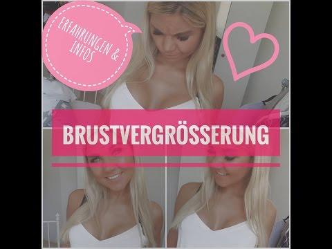 Brustvergrößerung - Erfahrungen & Infos