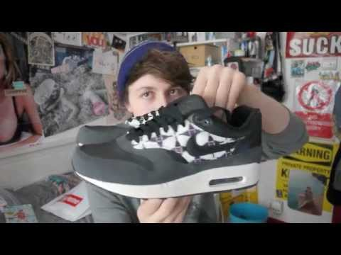 e3ed53d0121 Nike Air Max 1 black aztec  native trainer review and on feet