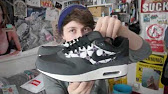 8b458a8683f Nike Air Max 1 black aztec  native trainer review and on feet