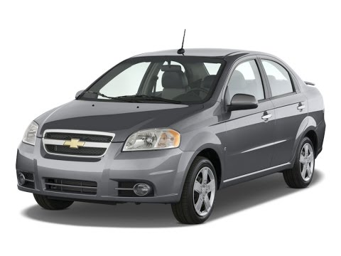 Замена лобового стекла на Chevrolet Aveo в Казани.