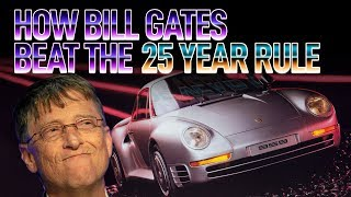 homepage tile video photo for How Bill Gates Beat The 25 Year Rule