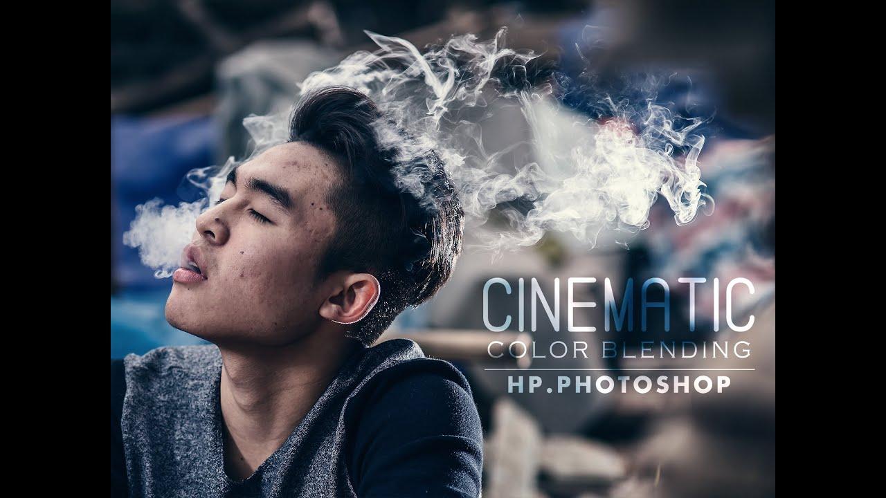 Blend màu cinematic    HPphotoshop.com