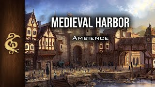 Ambience Medieval Harbor What Goods Did The Traders Bring This Time? # dnd YouTube