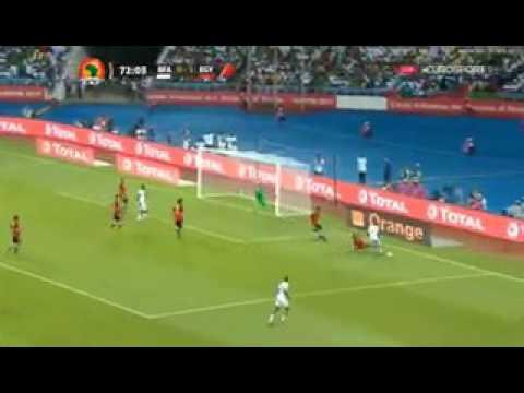 Aristide Bance Amazing Goal - Burkina Faso vs Egypt 1-1 (3-4) [01.02.2017]