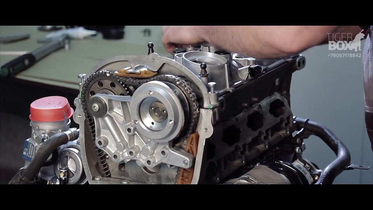Сборка двигателя CDAB 1.8TSI
