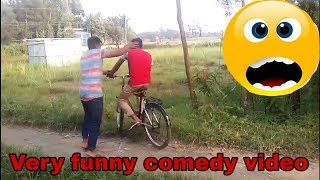 Very funny comedy video_Try not to laugh challenge_New funny video 2018 by Bengali funny tv