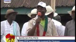Gambar cover Bayelsa politics:State PDP leaders rally support for Dickson