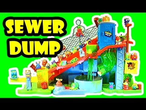 Is A Playset In The Shape Of Toxic Waste Barrel Unlike Past Sets This One Larger Than Others And For Lauching Trashies Inside It