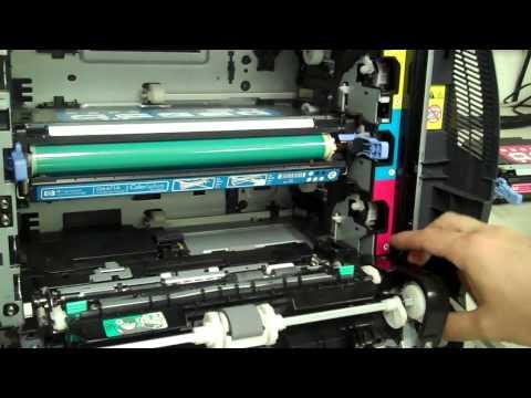 Error 10.92.00 Cartridges Not Engaged - Color LaserJet 3600