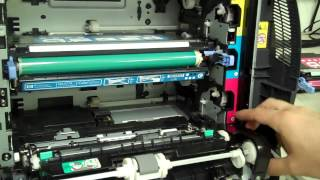Error 10.92.00 Cartridges Not Engaged - Color LaserJet 3600
