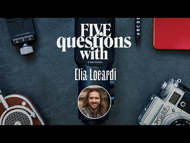5 Questions with … Elia Locardi