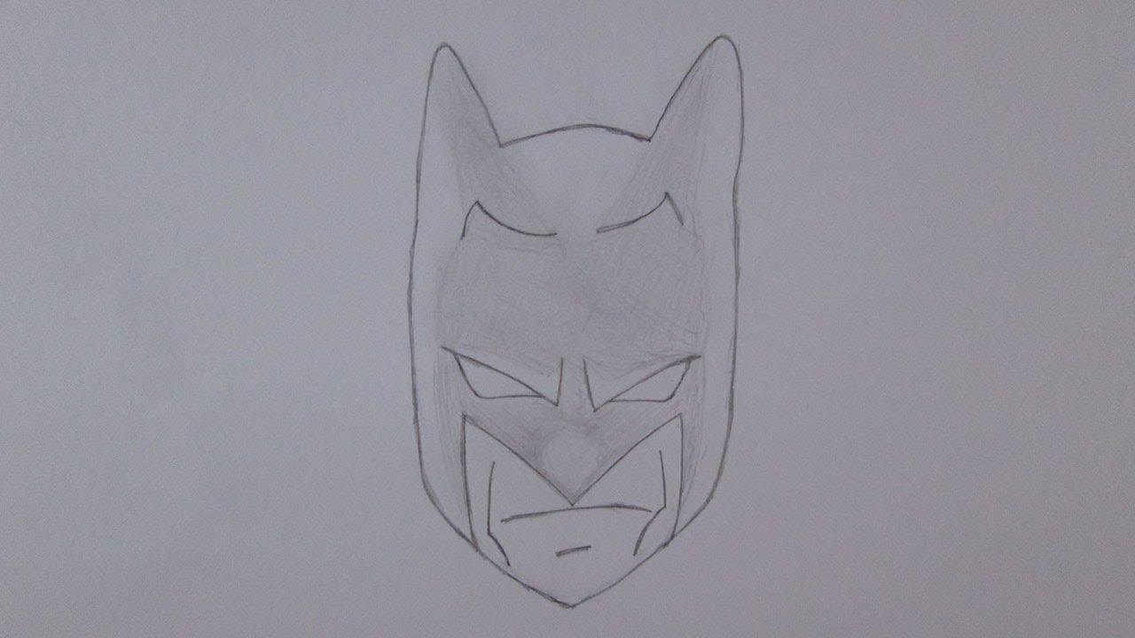 Rostos Desenhos: Como Desenhar O Rosto Do Batman