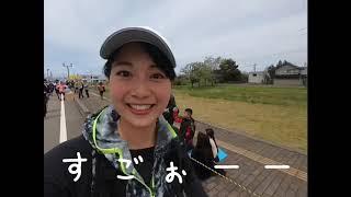 4/28に富山県魚津市で開催された「魚津しんきろうマラソン」にゲストラ...