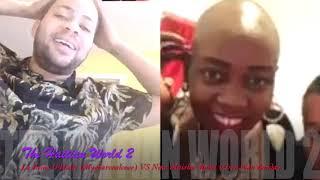 """""""The Haitian World 2"""" Ta sanble La Reine D'Haiti fe yon ti pale ak Nina Live apre lopital.Part#1"""