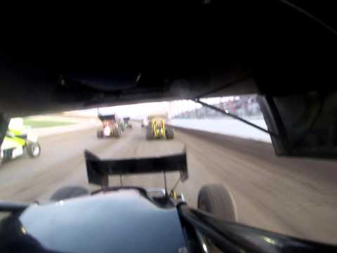 Cody Lampe Dodge City Raceway Park In-Car Camera 4/25/15