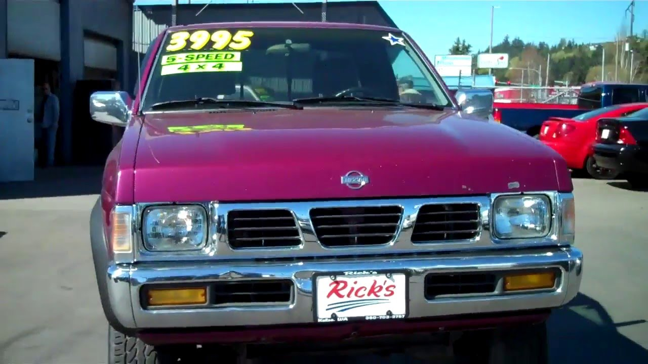 Ricks Auto Sales >> 1995 NISSAN XE KING CAB 4X4 SOLD!! - YouTube