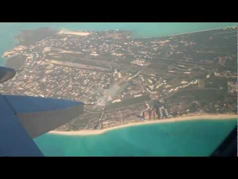 Turks and Caicos Islands. The Takeoff!