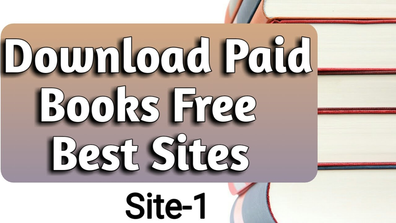 How To Download Paid Books Free Any Paid Ebooks Google Books