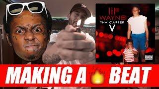 Making a Beat for Lil Wayne Carter V Album