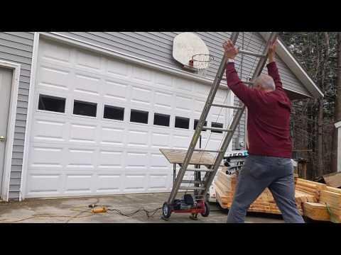 Homemade Ladder Hoist