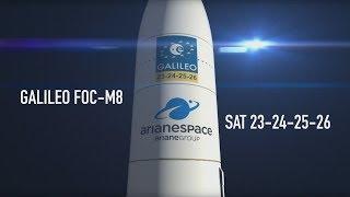 Arianespace Flight VA244 / Galileo FOC-M8 / SAT 23-24-25-26