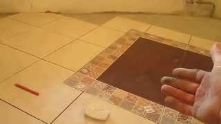 Укладка напольной керамической плитки.(, 2014-04-24T08:27:04.000Z)