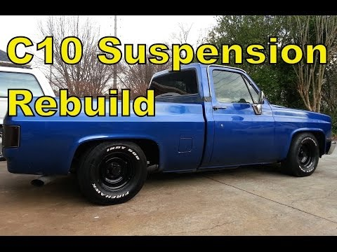 """'87 Chevy C10 Front Suspension """"How To"""" Rebuild in 15 mins - Truck R10"""