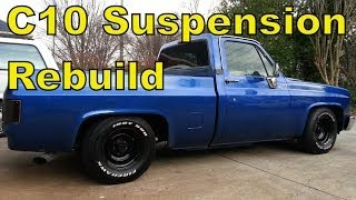 "'87 Chevy C10 Front Suspension ""How To"" Rebuild in 15 mins - Truck R10"