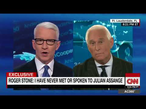 Anderson Cooper 360 Interview with Roger Stone
