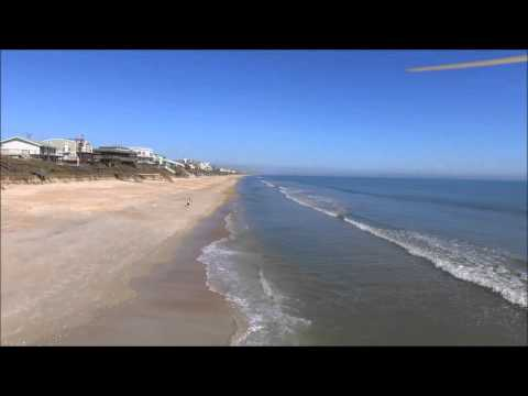 """Aerial drone video of St Augustine Beach, feat. """"Maybe Tomorrow"""""""