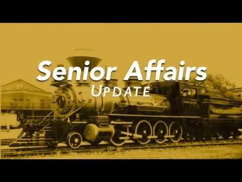 Senior Affairs Update - AT&SF 2926 - Albuquerque's Own Steam Locomotive