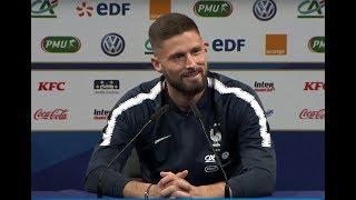 Équipe de France, la conférence de presse de Giroud et Digne en replay I FFF 2019